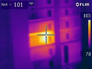 Infrared Overheating